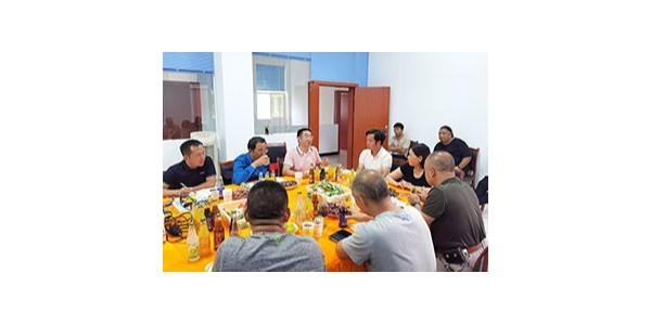 云南牛商汇企业家访问品世新搬迁的休闲食品厂