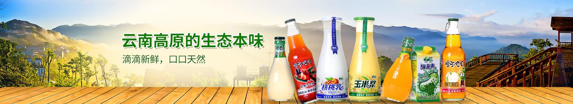 品世饮料,云南高原的生态本味
