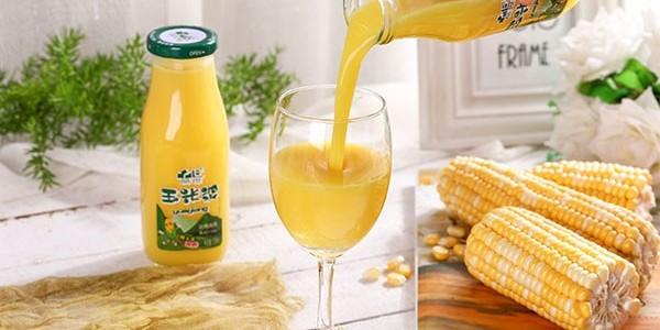 饮料加热更好喝,粗粮饮料品世玉米浆在冷天给你带来一缕温暖和清香